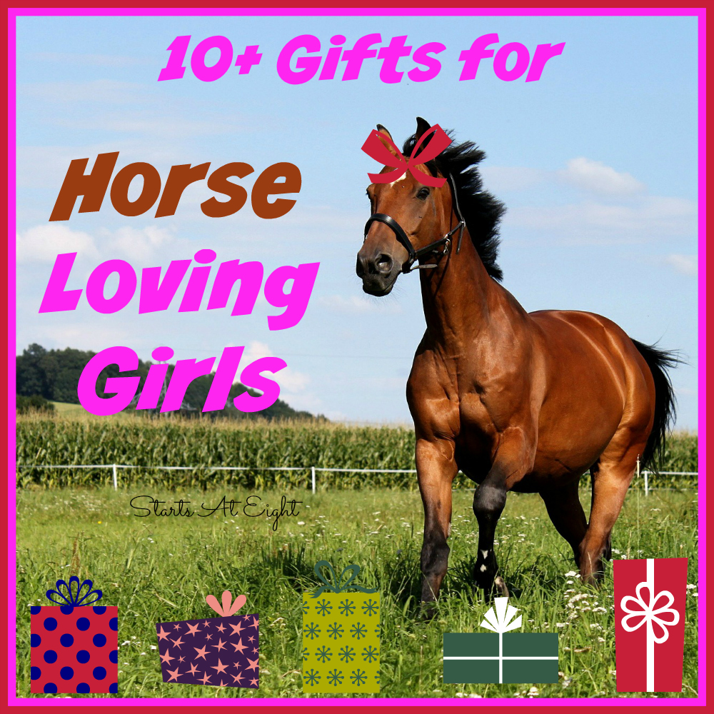 10+ Gifts for Horse Loving Girls - StartsAtEight