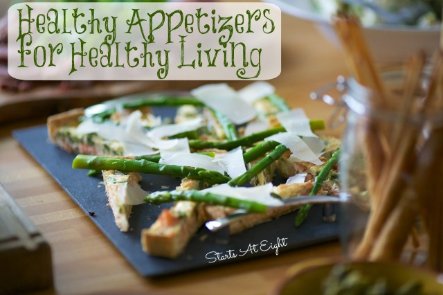 Healthy Appetizers for Healthy Living from Starts At Eight
