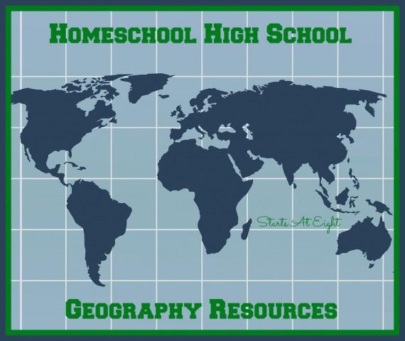 Homeschool High School Geography Resources - StartsAtEight