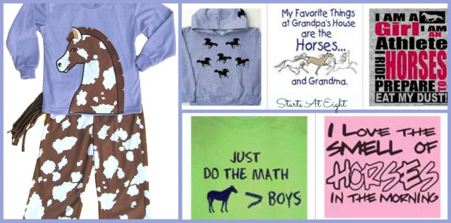 Horse Clothing for Horse Loving Girls