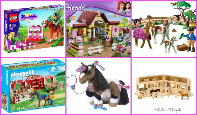 Horse Toys for Horse Loving Girls from Starts At Eight
