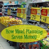 How Meal Planning Saves Money