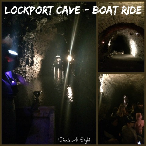 Lockport Cave Boat Ride from Starts At Eight