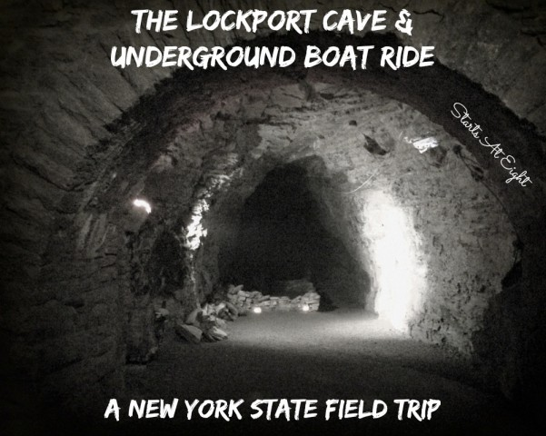 The Lockport Cave & Underground Boat Ride - A New York State Field Trip from Starts At Eight