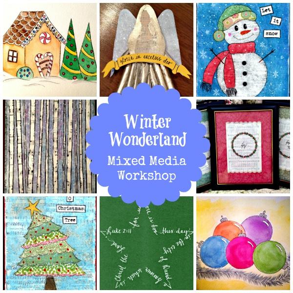 Winter Wonderland: Mixed Media Workshop