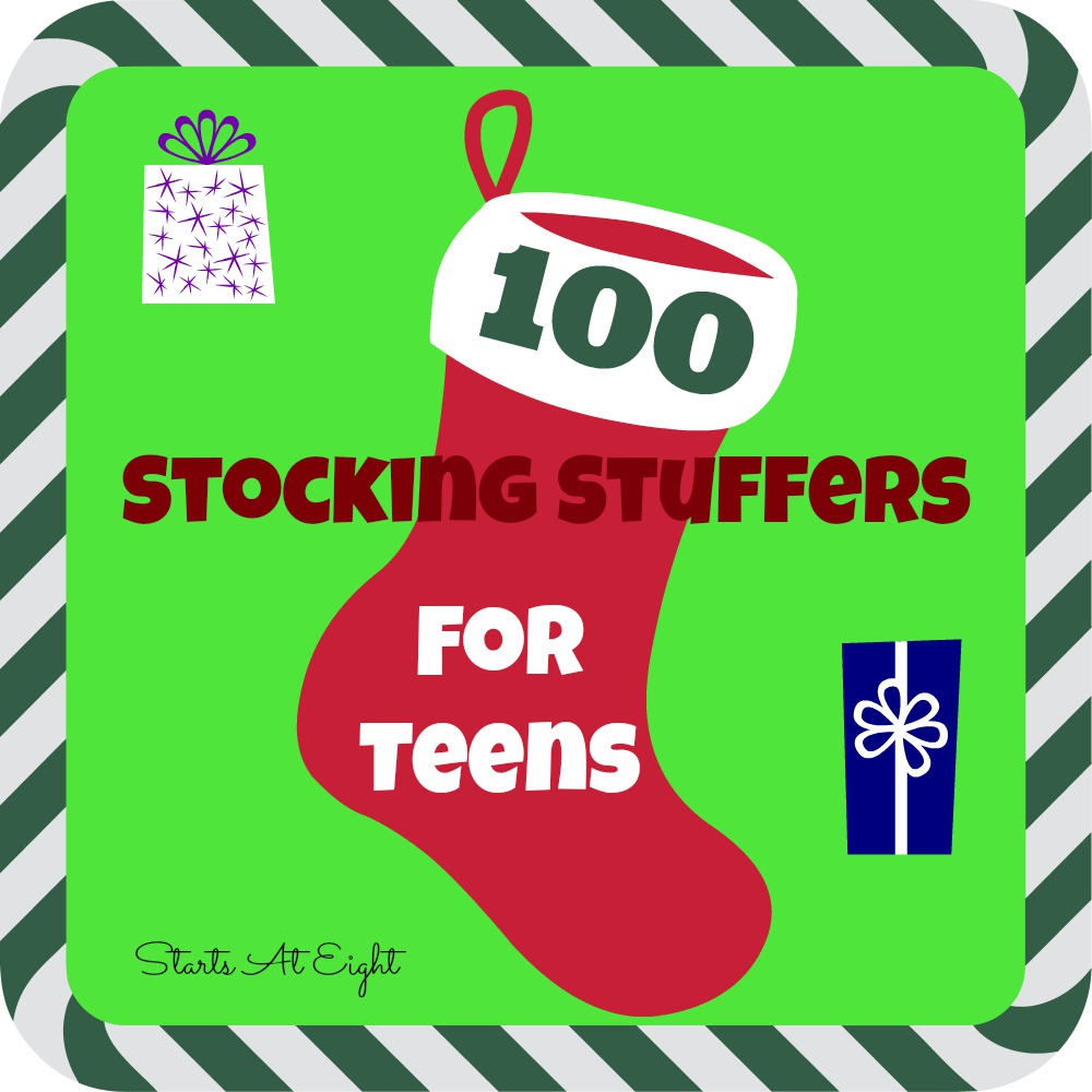 100 Stocking Stuffers for Teens