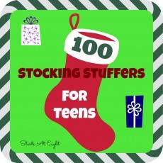 100 Stocking Stuffers for Teens