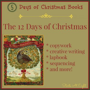5 Days of Christmas Books: 12 Days of Christmas from Starts At Eight