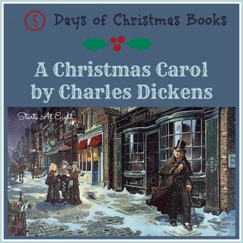 5 Days of Christmas Books with Activities: A Christmas Carol from Starts At Eight