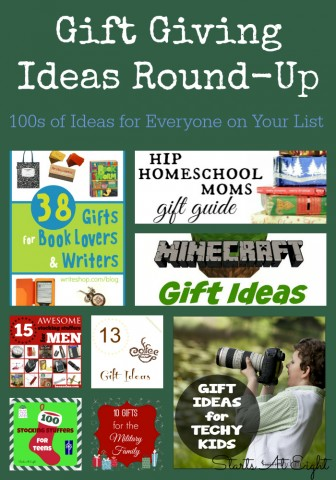 Gift Giving Ideas Round-Up: 100s of Ideas for Everyone on Your List from Starts At Eight