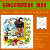 Gingerbread Man: A Book & A Big Idea
