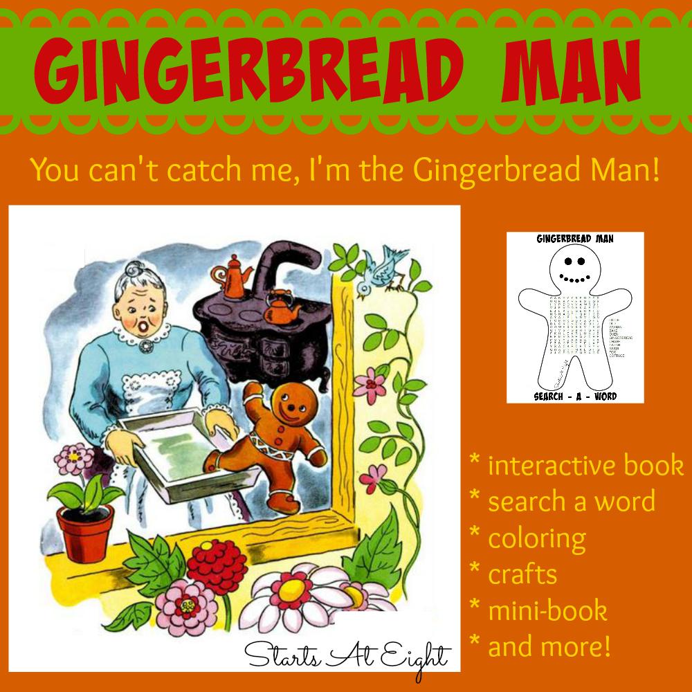 Gingerbread Man A Book A Big Idea Startsateight