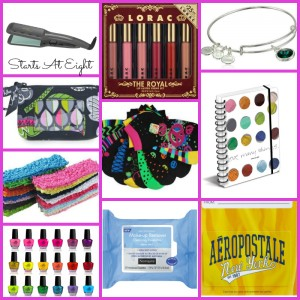 100 Stocking Stuffers for Teens: Girlie Girl from Starts At Eight