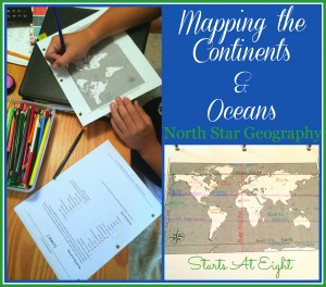 Teach Geography: Mapping the Continents & Oceans from Starts At Eight