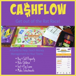 Money Management for Teens with the CASHFLOW Board Game