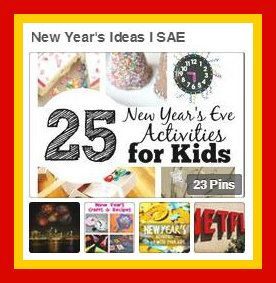 New Years Ideas Pinterest Board from Starts At Eight