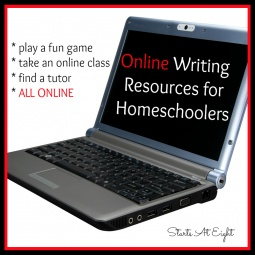Online Writing Resources for Homeschoolers