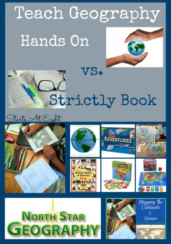 Teach Geography: Hands On vs. Strictly Book from Starts At Eight