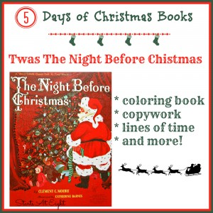 5 Days of Christmas Books with Activities: Twas The Night Before Christmas from Starts At Eight