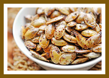 Healthy Homemade Snacks: Pumpkin Seeds from Starts At Eight