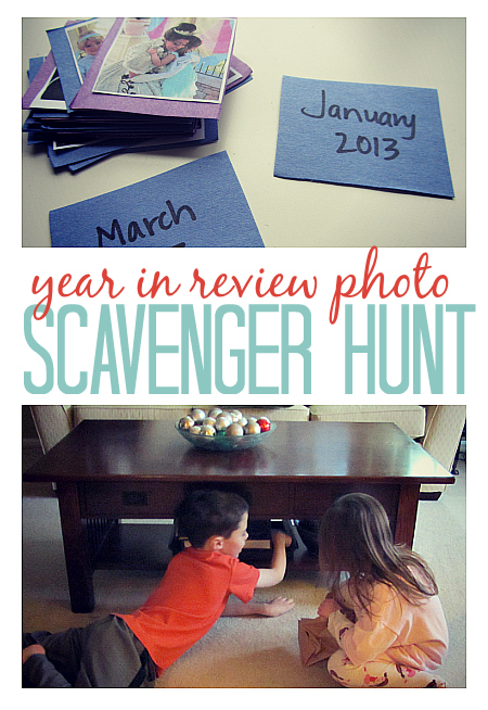 Year in Review Photo Scavenger Hunt
