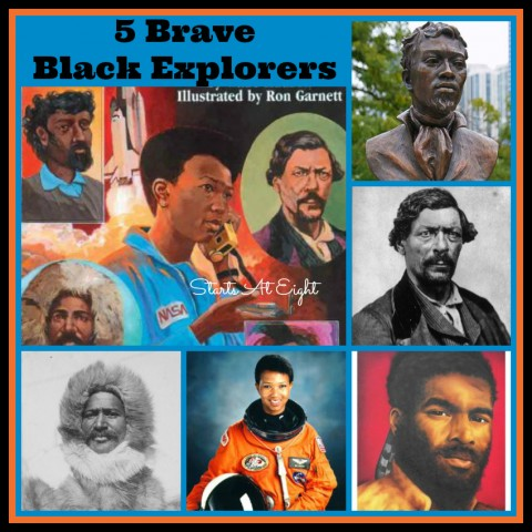 5 Brave Black Explorers from Starts At Eight