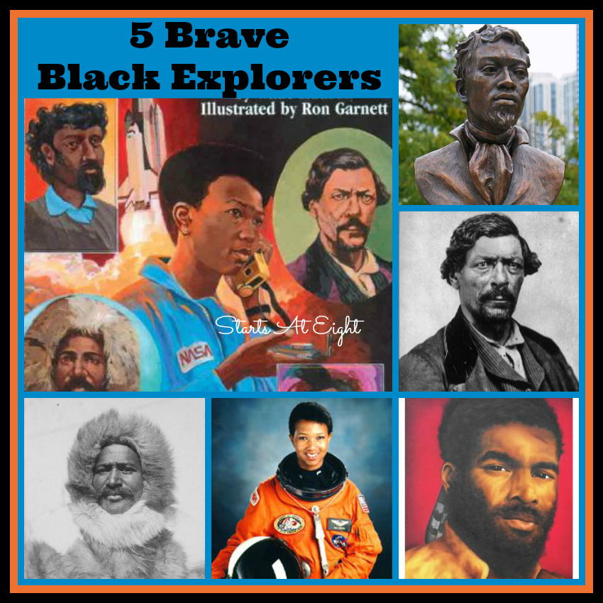 5 Brave Black Explorers Startsateight