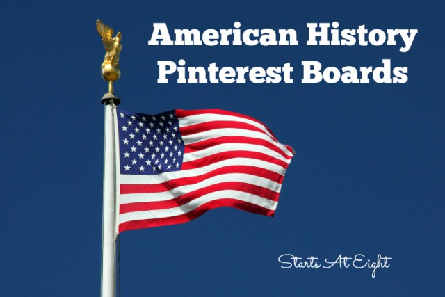 American History Pinterest Boards from Starts At Eight