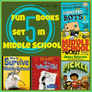 5 Fun Books Set In Middle School from Starts At Eight
