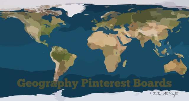 Geography Pinterest Boards from Starts At Eight