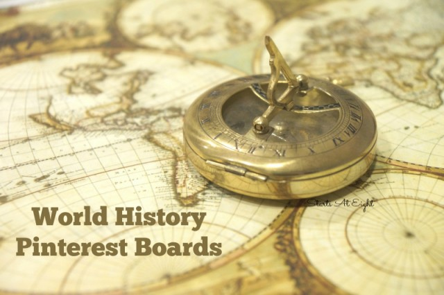World History Pinterest Boards from Starts At Eight