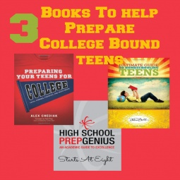 3 Books to Help Prepare College Bound Teens