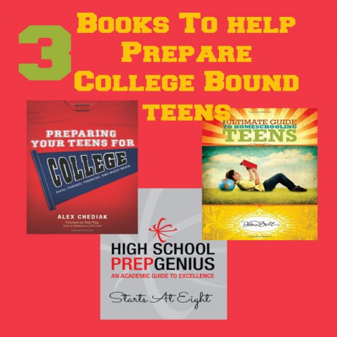 3 Books to Help Prepare College Bound Teens from Starts At Eight