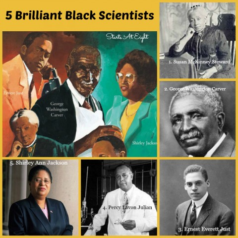 5 Brilliant Black Scientists from Starts At Eight
