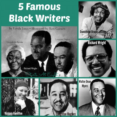 5 Famous Black Writers from Starts At Eight