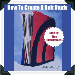 How To Create A Unit Study from Starts At Eight