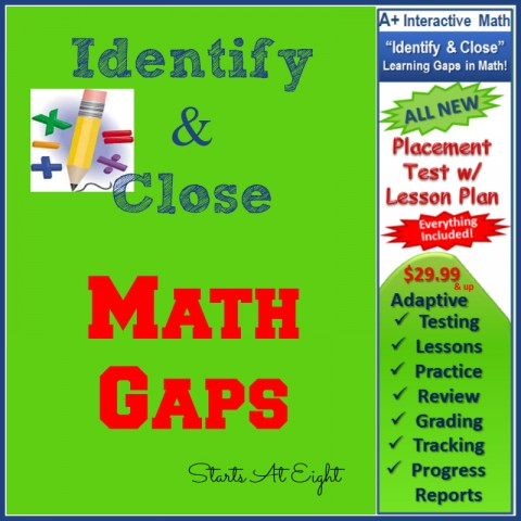 Identify & Close Math Gaps from Starts At Eight