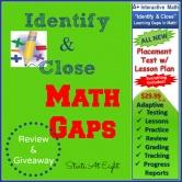 Identify & Close Math Gaps