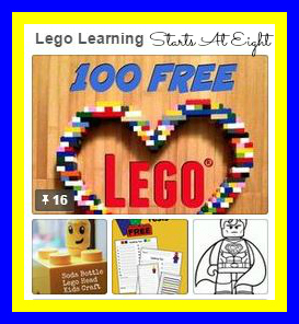 Lego Learning on Pinterest from Starts At Eight