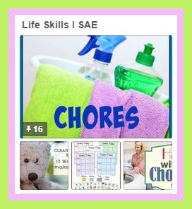 Life Skills Pinterest Board from Starts At Eight