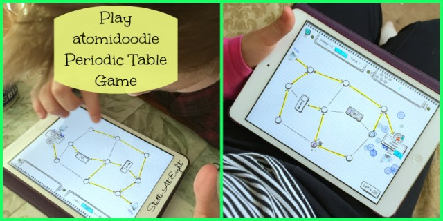 Play atomidoodle Periodic Table Game from Starts At Eight