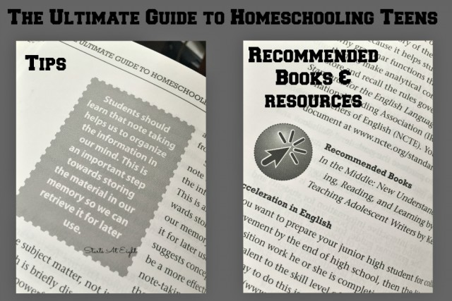The Ultimate Guide to Homeschooling Teens - Starts At Eight