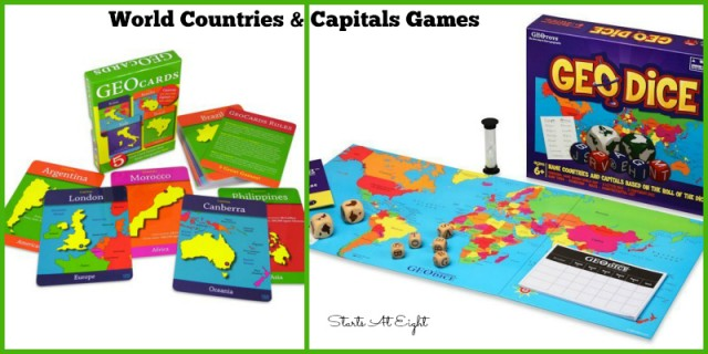World Countries & Capitals Games