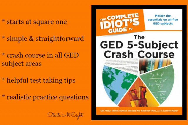 Complete Idiot's Guide to The GED - 5 Subject Crash Course