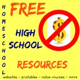 Free Homeschool High School Resources