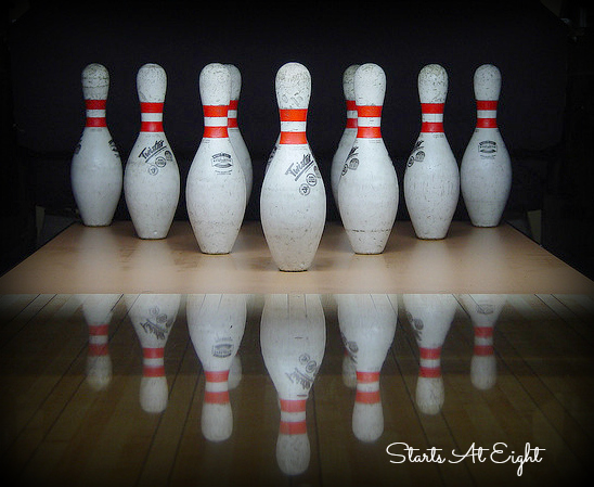 How to Bring Sports Indoors - Bowling from Starts At Eight