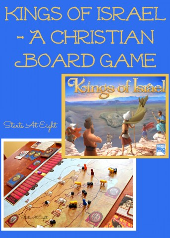 Kings of Israel - A Christian Board Game from Starts At Eight