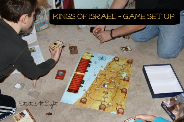 Kings of Israel - Game Set Up from Starts At Eight