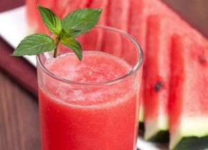 Healthy Smoothie Recipes for Kids - Watermelon Smoothie from Starts At Eight