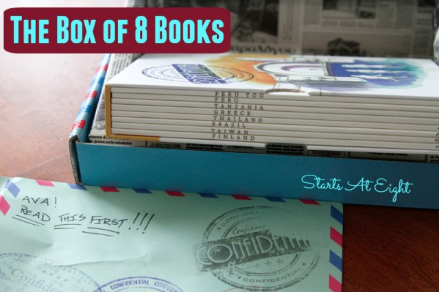 Adventurous Mailbox Box of 8 Books from Starts At Eight